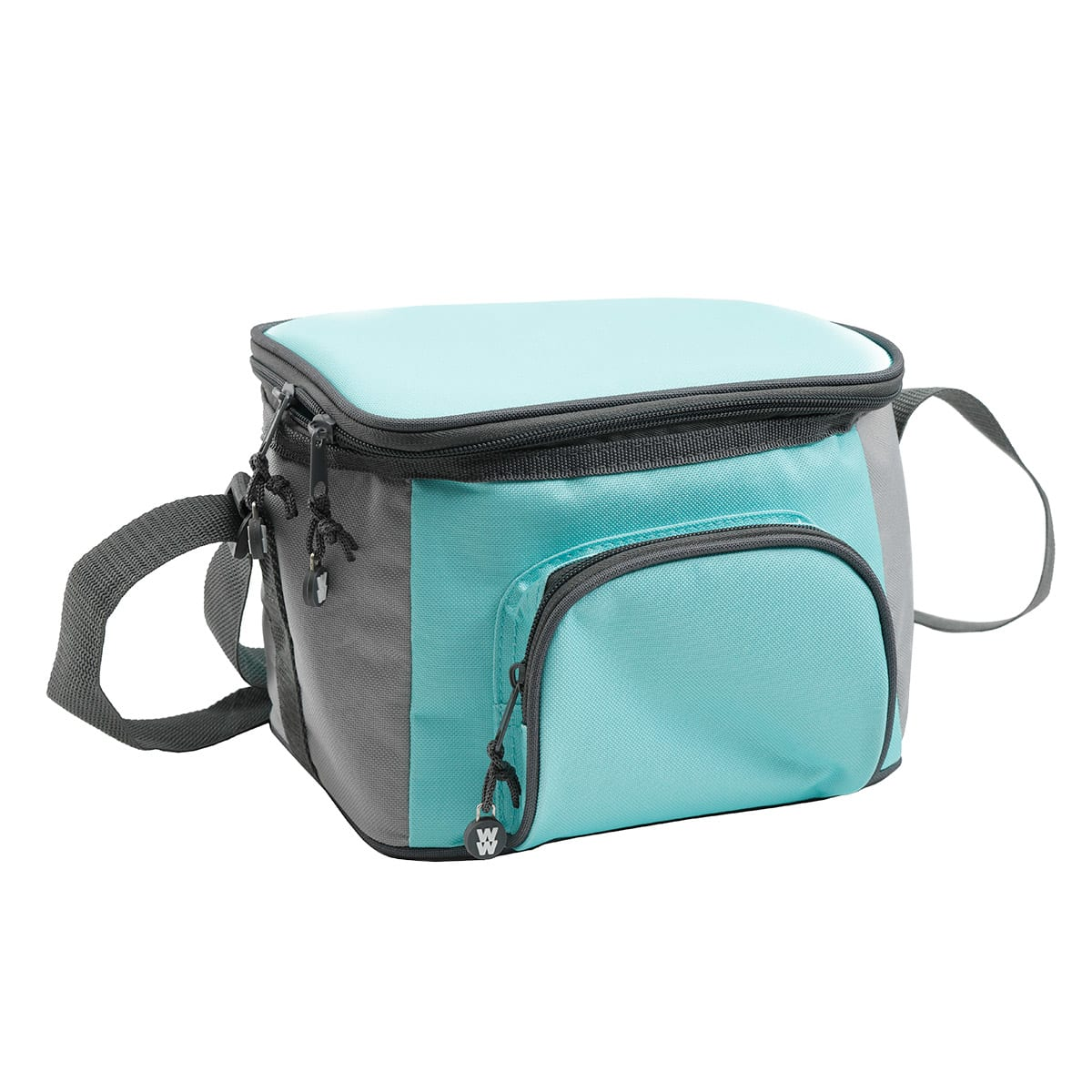 """3-piece Insulated Lunch Tote with 2 microwaveable and dishwasher safe Containers, Comes with cooler bag and 2 x 6.75-cup (1.6L) containers, Measures 8.5"""" x 6.5"""" x 6.5"""""""