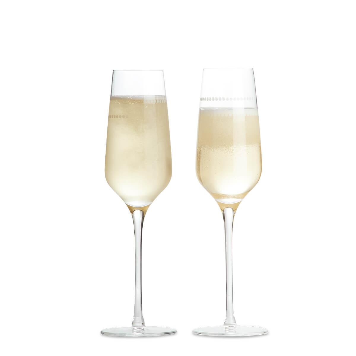 Portion Control Champagne Flutes