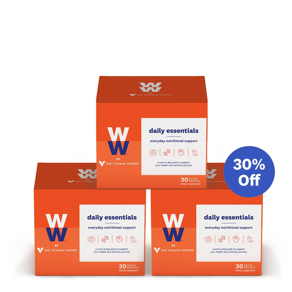 WW by the Vitamin Shoppe Daily Essentials - 90 day, 3 boxes