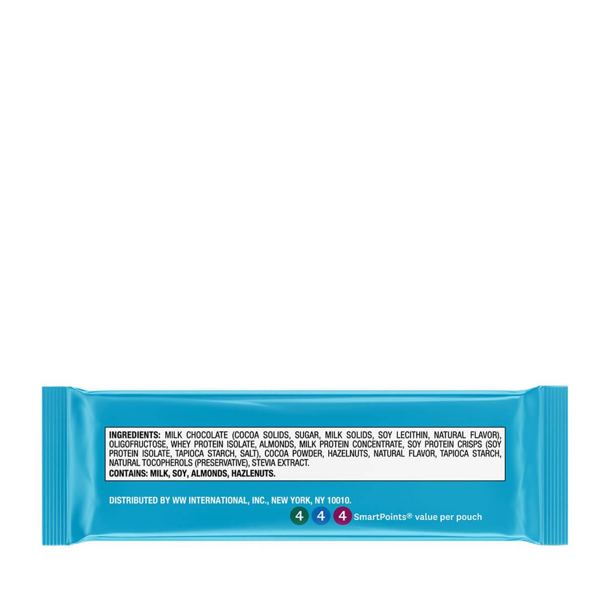 Hazelnut Protein Bites - back