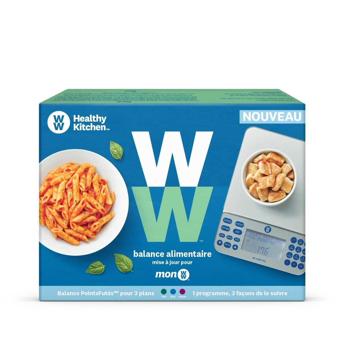 myWW food scale box back