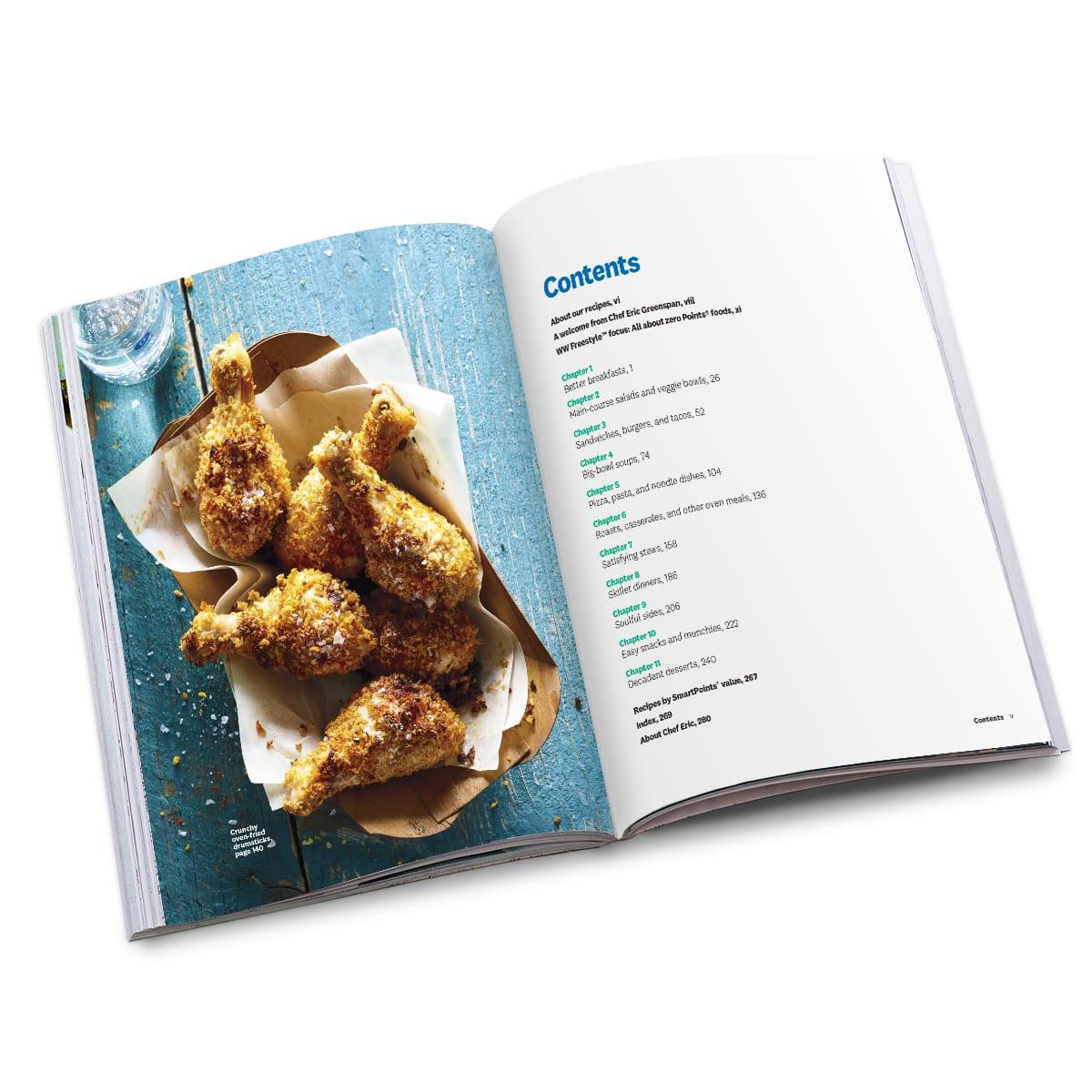 Cook Up Comfort Cookbook - alternate view