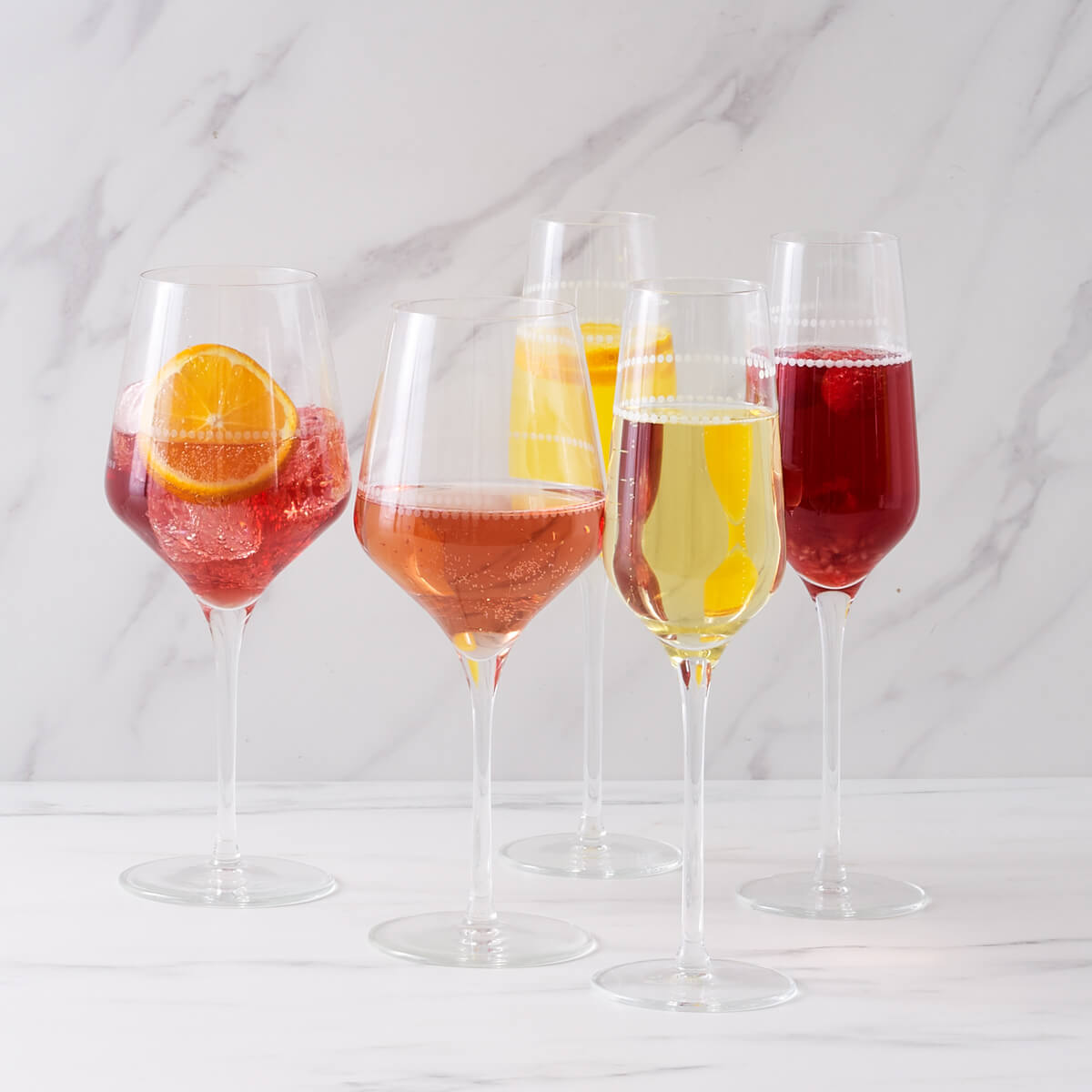 Champagne Flutes - lifestyle
