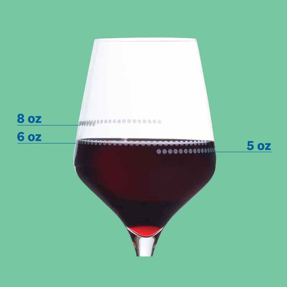wine glass detail