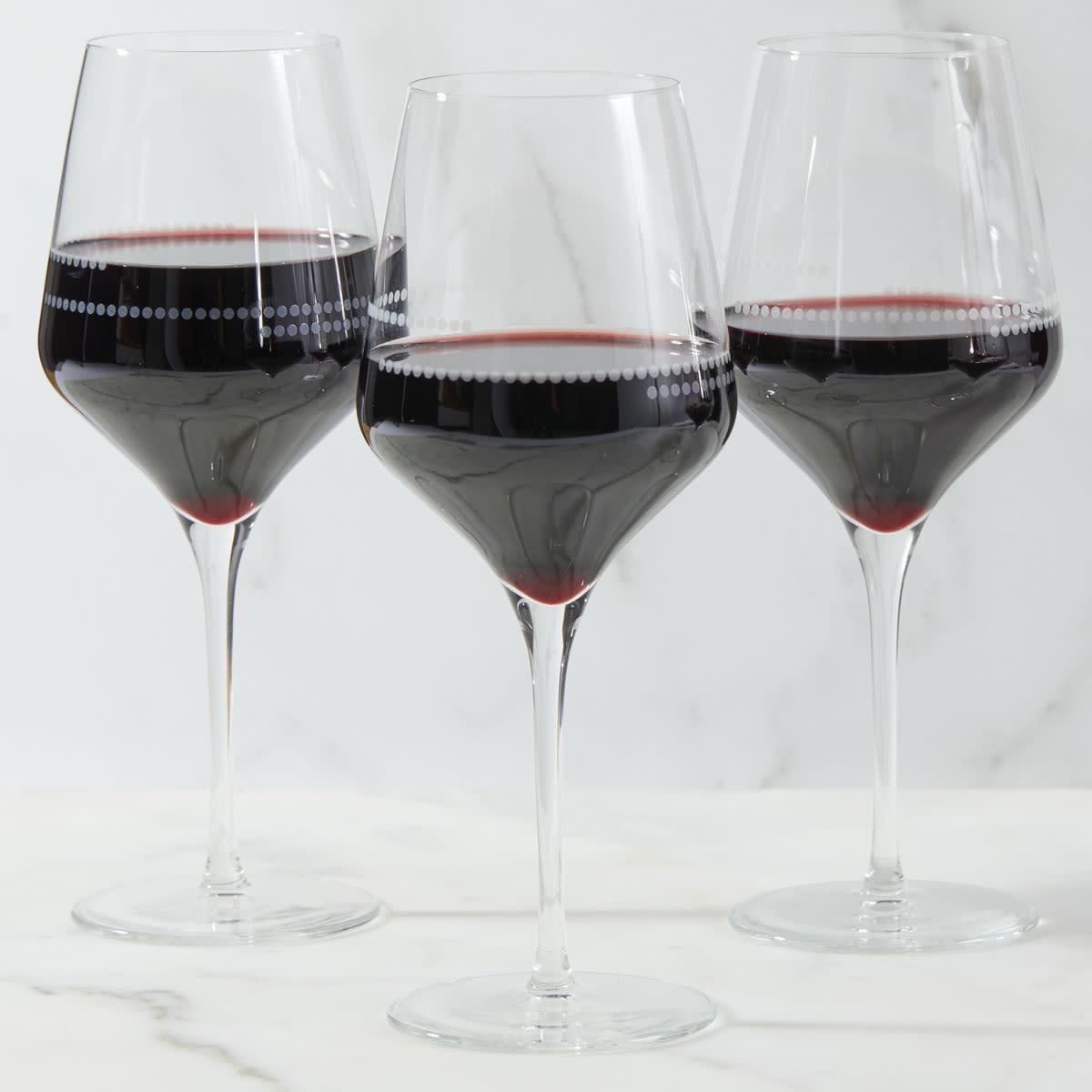 wine glass portions