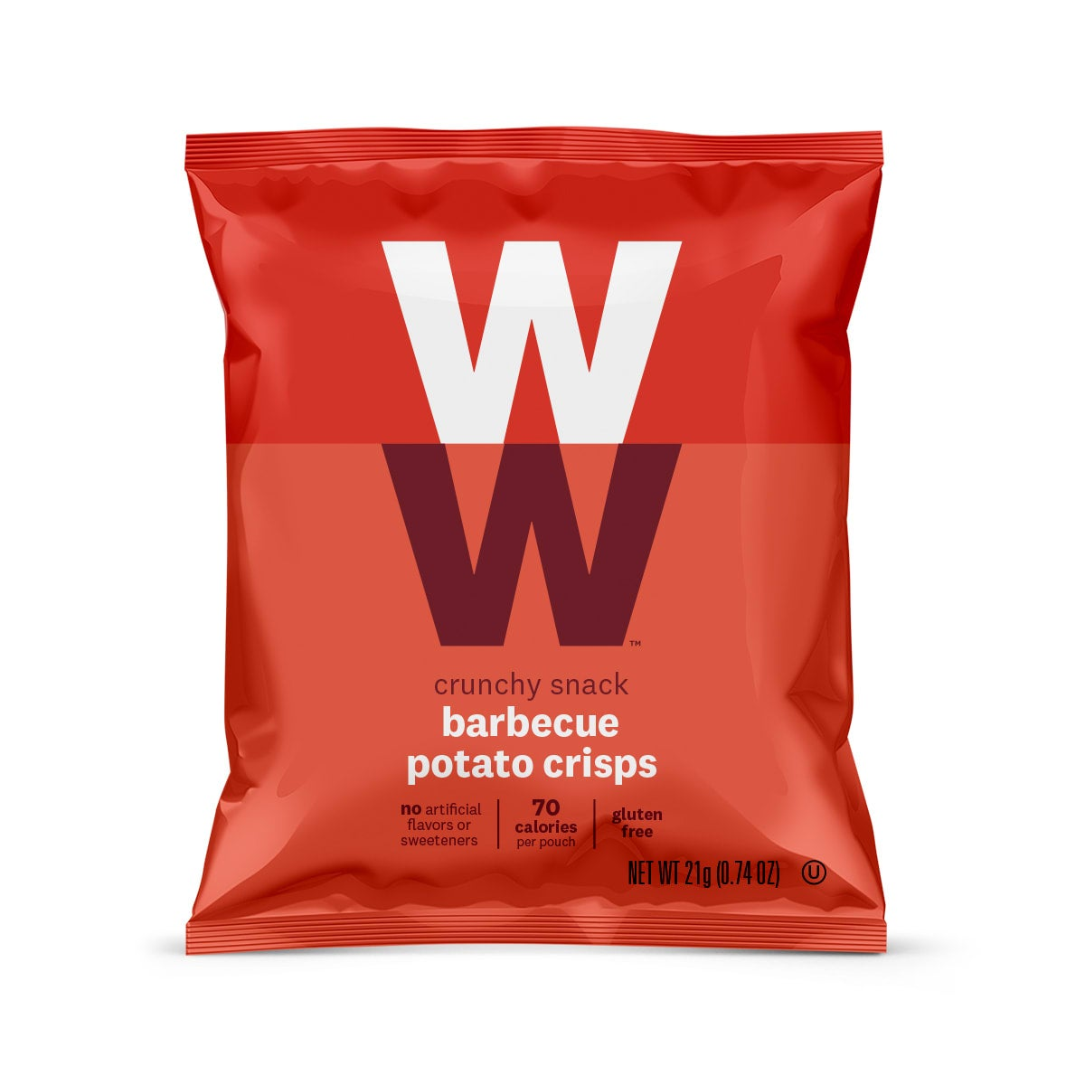 Barbecue Potato Crisps - front of pouch