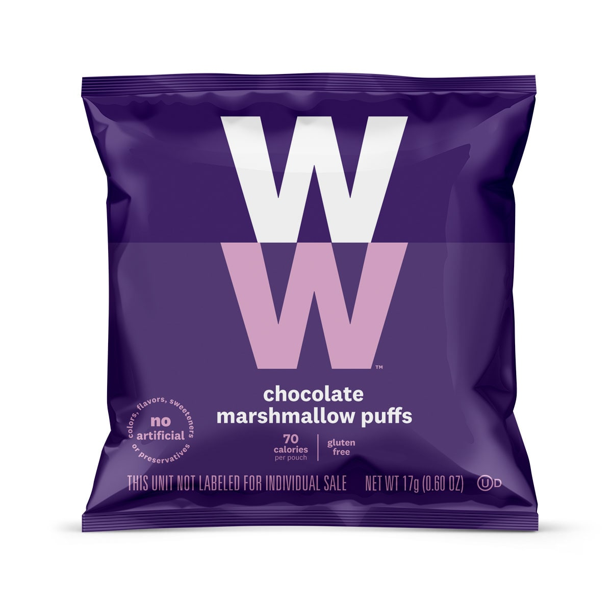 Chocolate Marshmallow Puffs - pouch