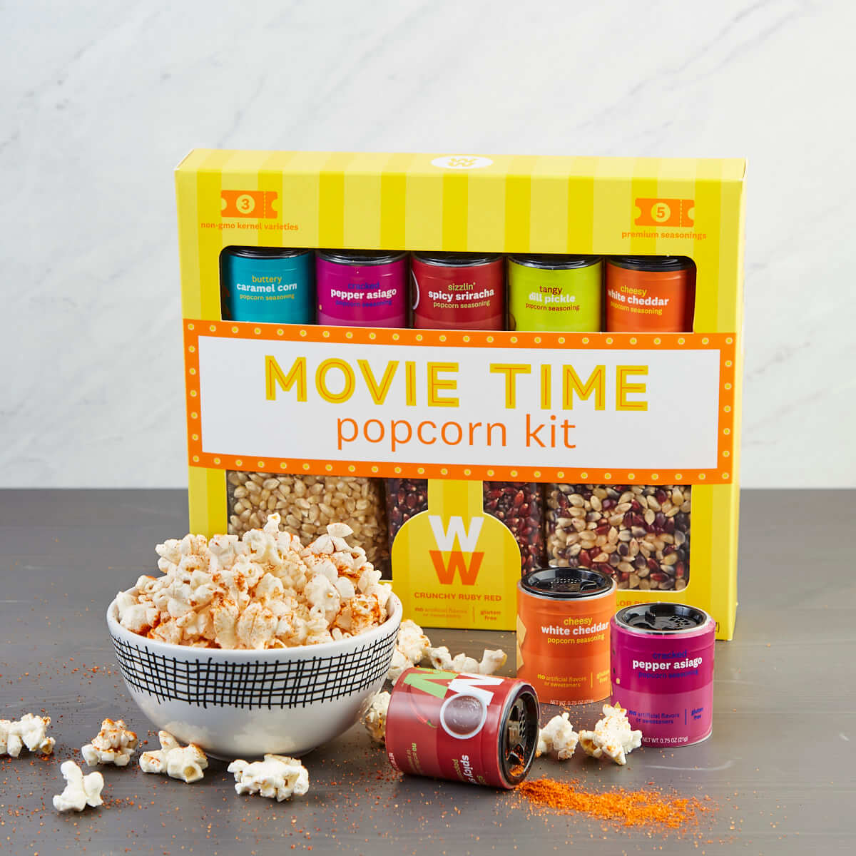 Movie Time Popcorn Kit - lifestyle