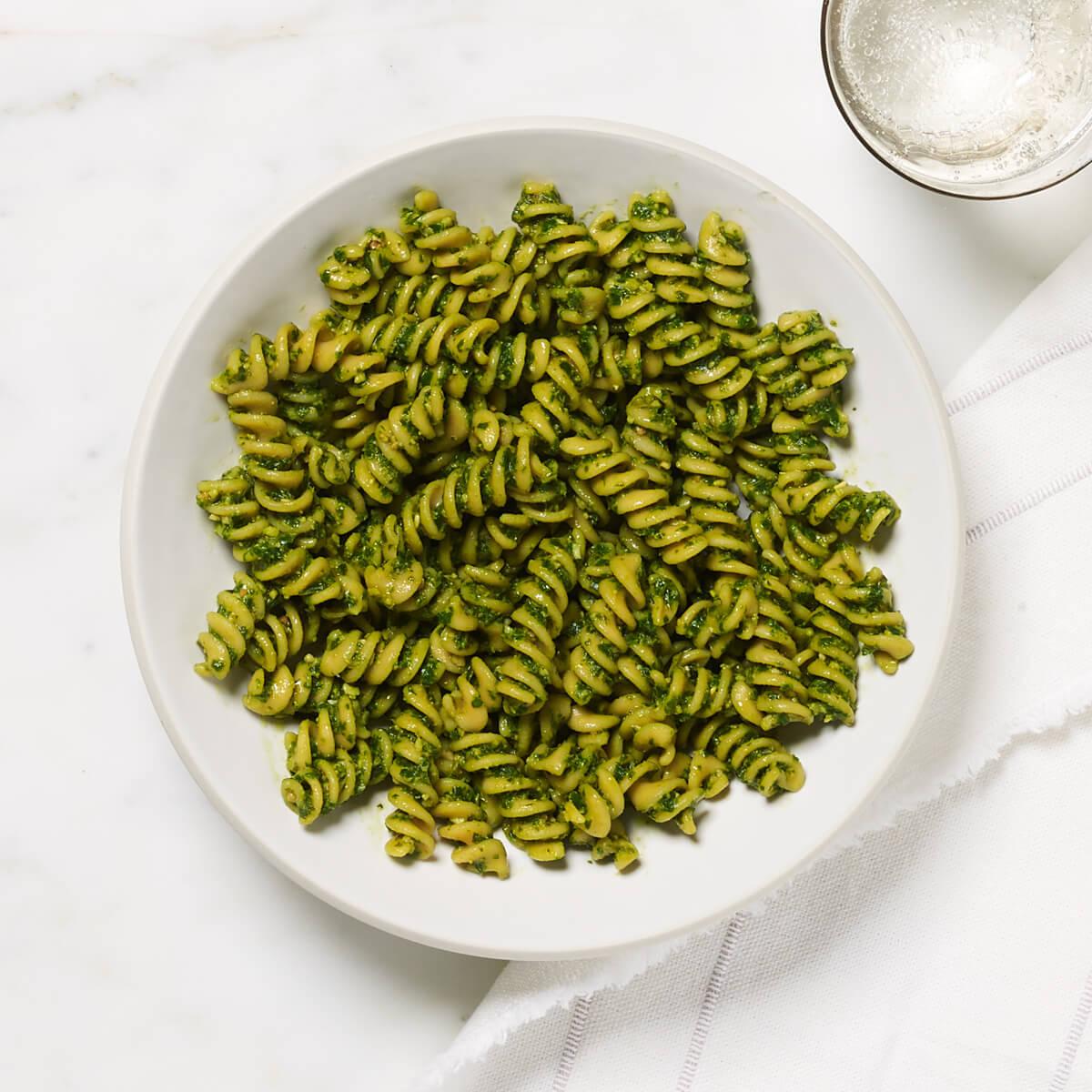 Yellow Lentil Rotini - dish