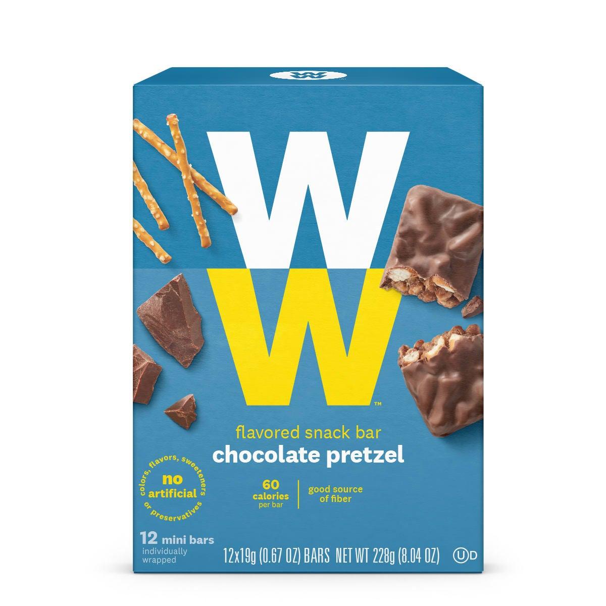 chocolate pretzel-front
