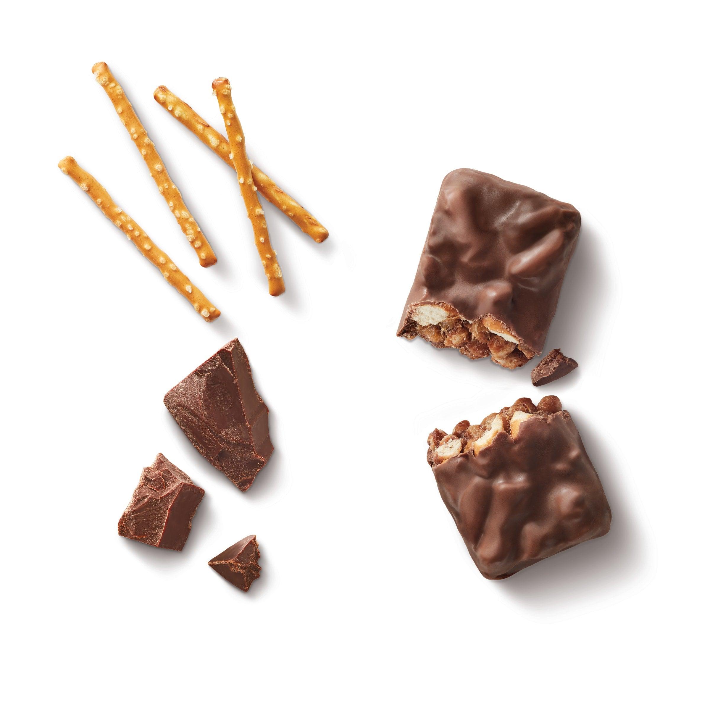 chocolate pretzel bar ingredients