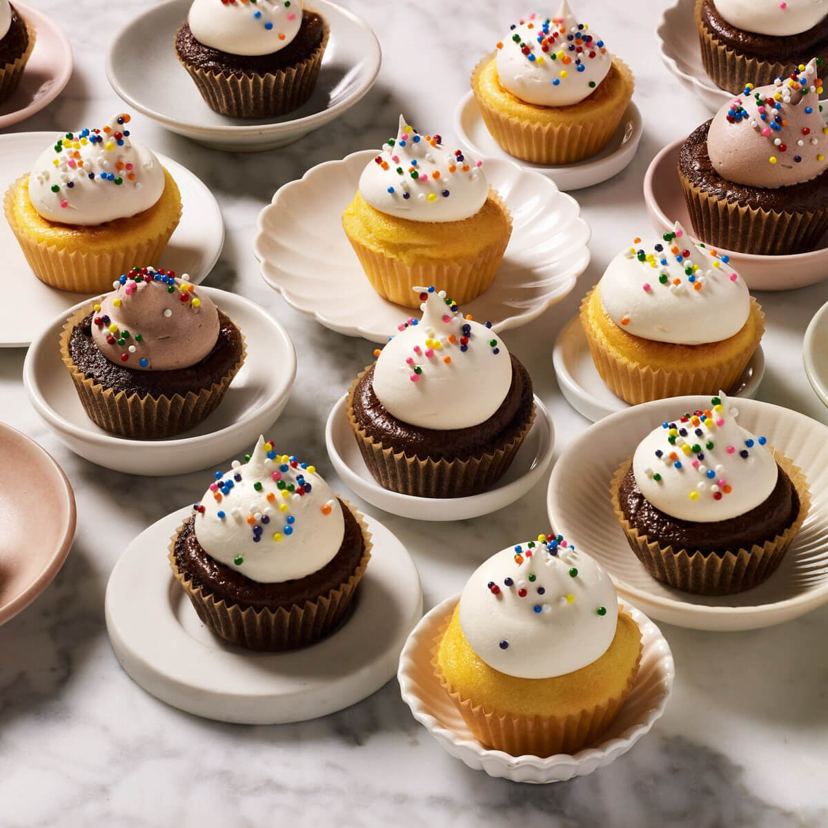 Vanilla Cake Mix - cupcakes