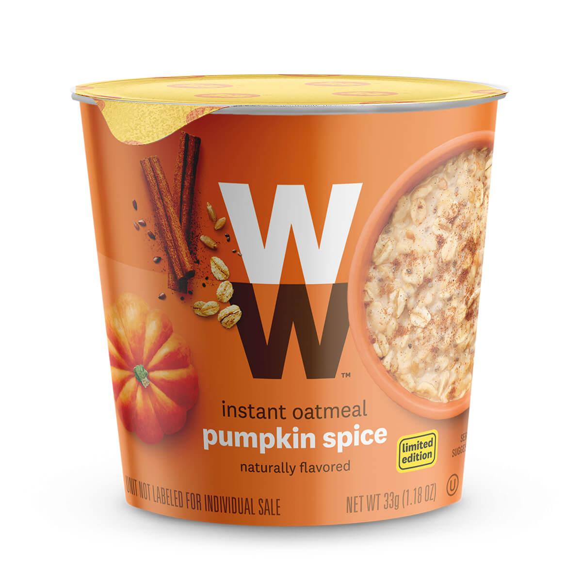 Pumpkin Spice Oatmeal - cup