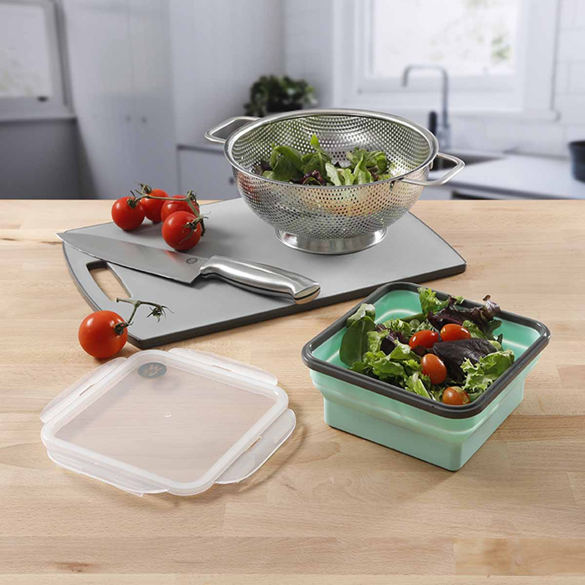 "6.25"" Silicone Portion Control Container - alternate view 1"