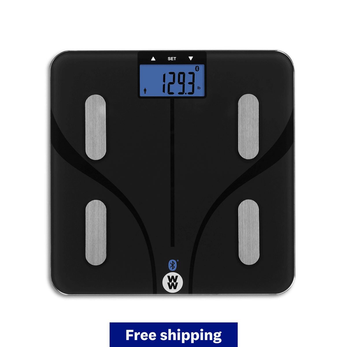 WW Compact Body Analysis Bluetooth Scale - qualifies for free shipping