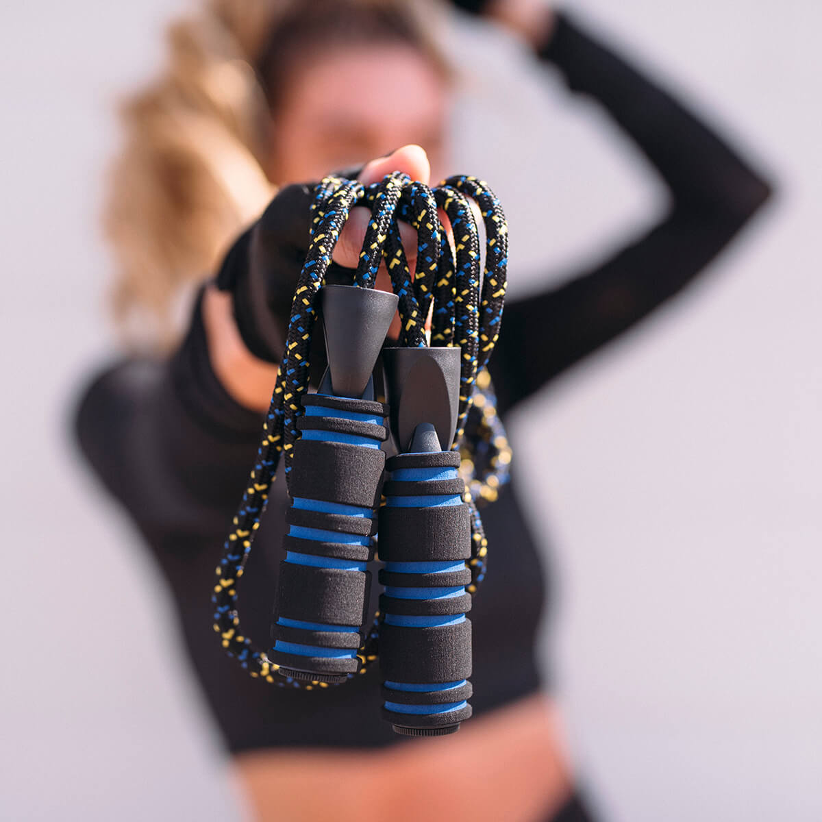 Oak and Reed Weighted Jump Rope - lifestyle