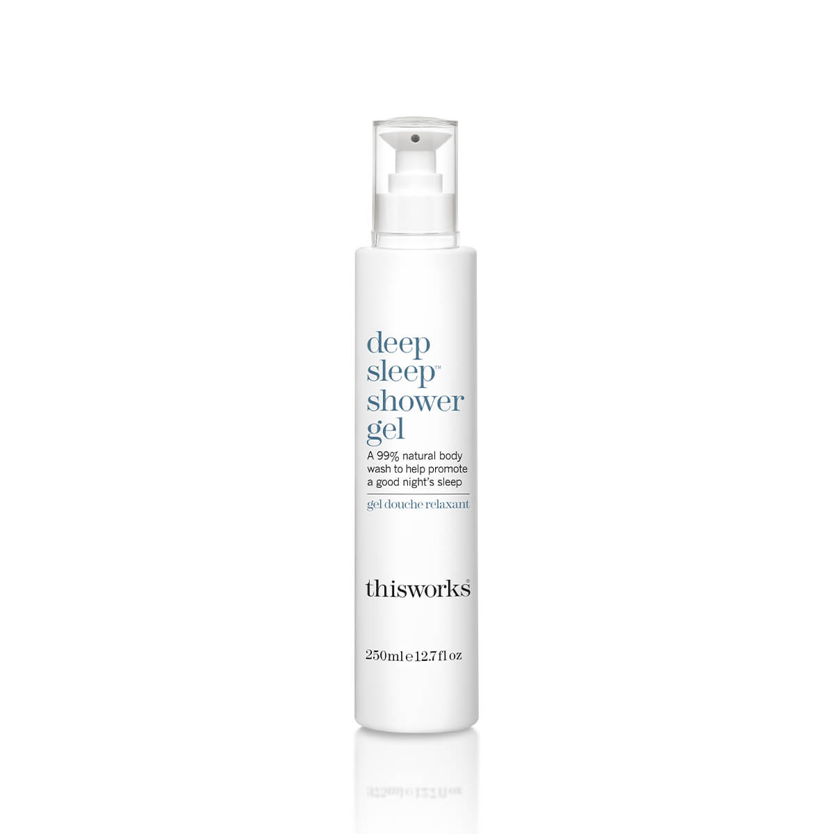 ThisWorks Deep Sleep Shower Gel - front of bottle