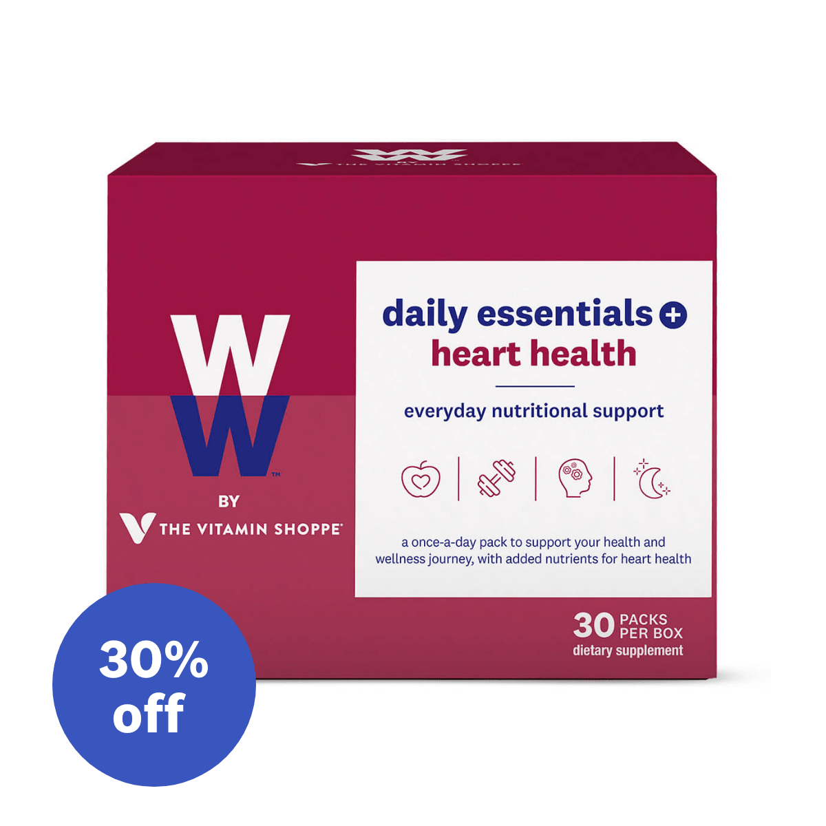 WW by the Vitamin Shoppe Daily Essentials Heart Health - sale image