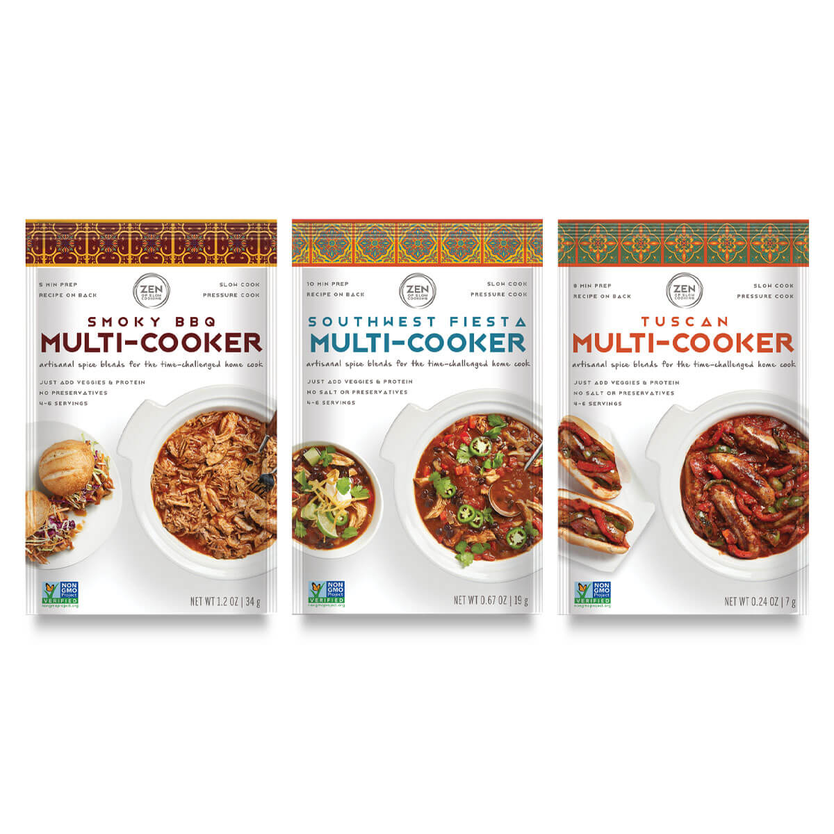 Zen of Slow Cooking Family Faves Trio