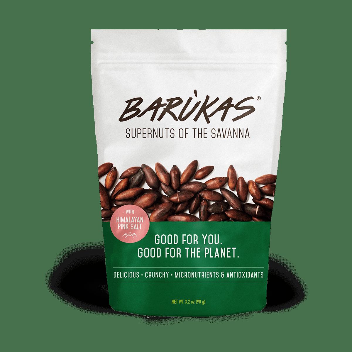 Barukas Nuts Himalayan Pink Salt