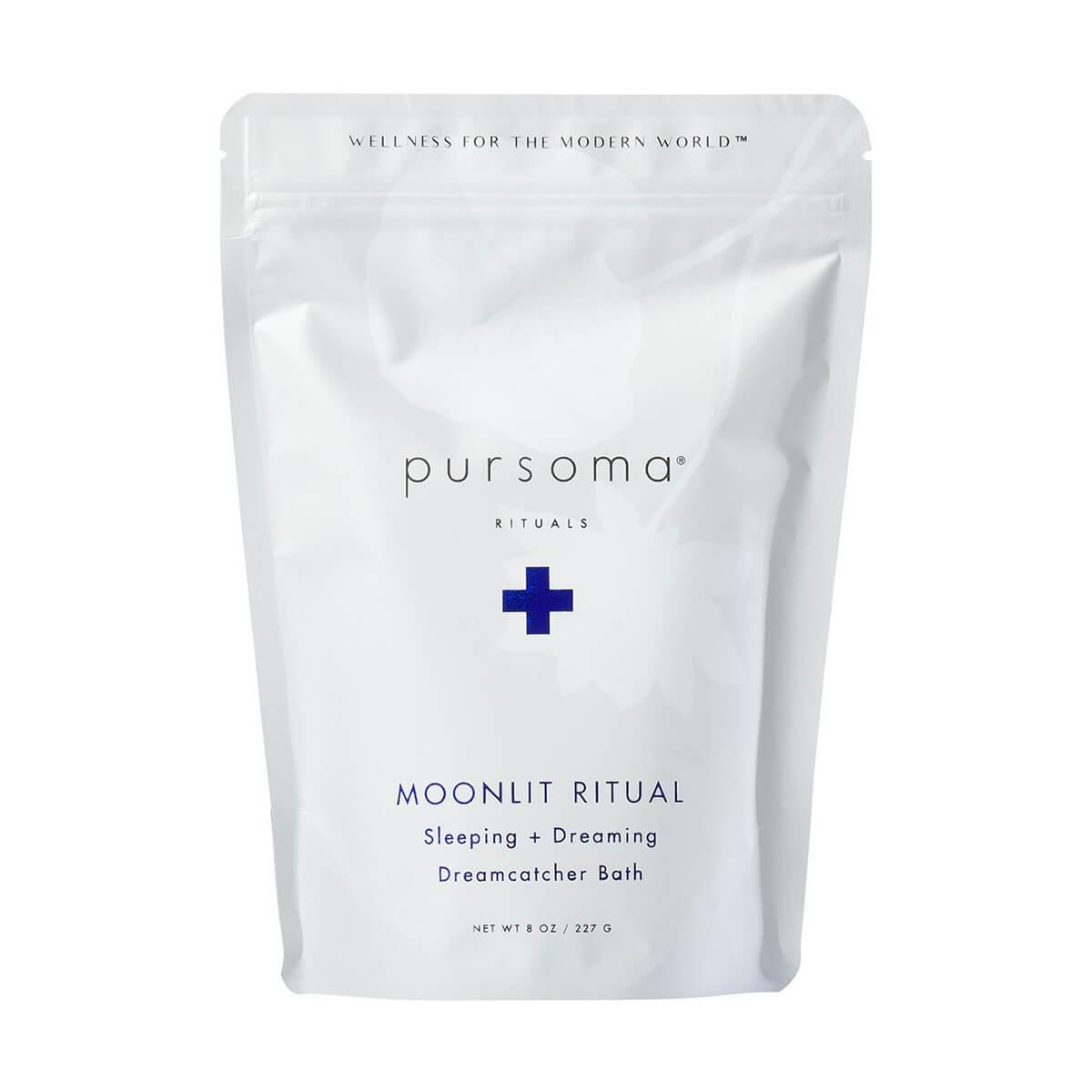 Pursoma Moonlit Ritual Bath Soak - front of bag