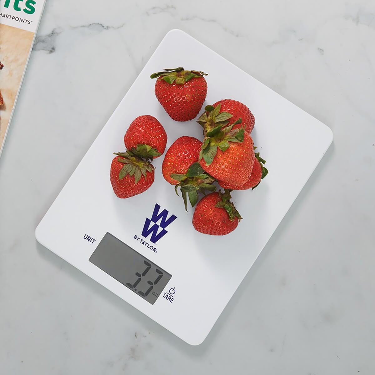 Space Saving Digital Food Scale - lifestyle 3