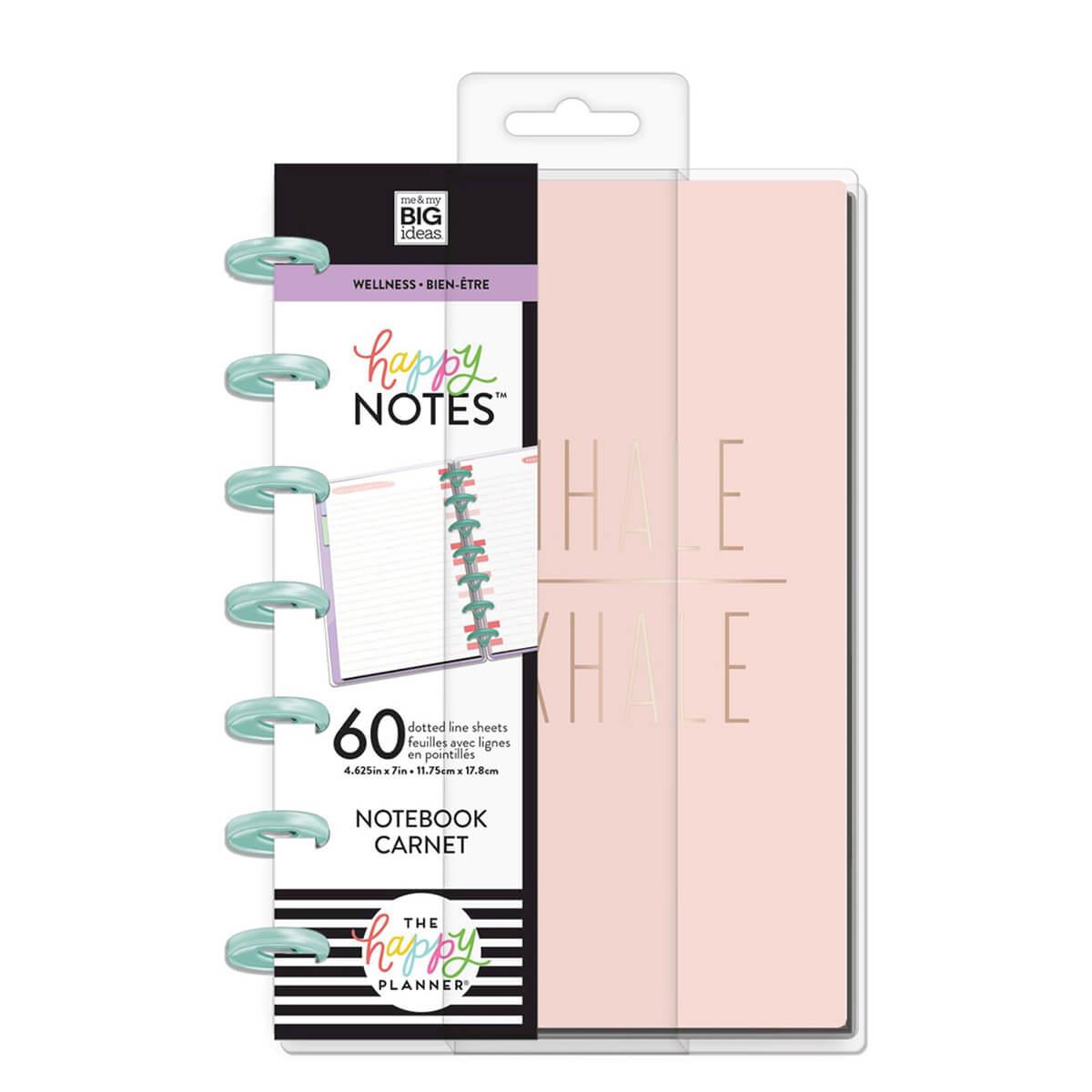 The Happy Planner Wellness Mini Notebook