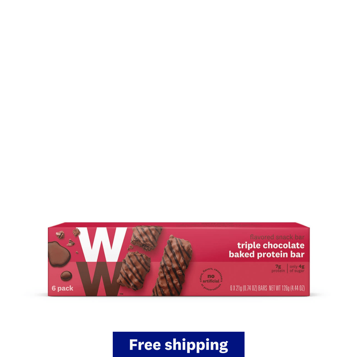 Triple Chocolate Baked Protein Bar Value Pack - qualifies for free shipping