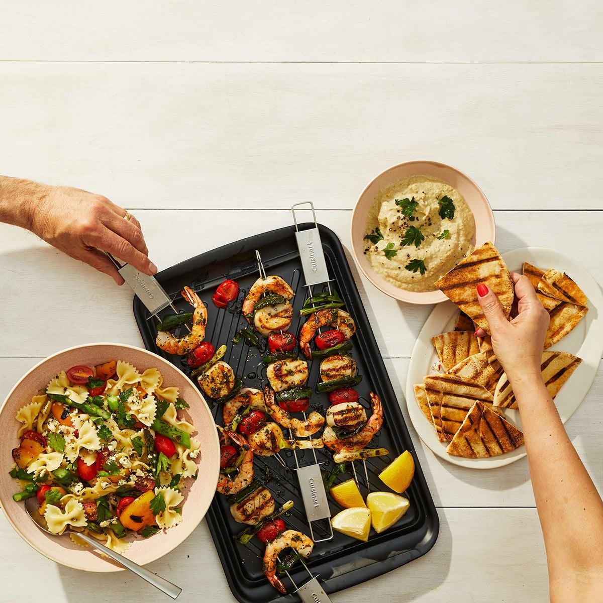 Cuisinart Sliding Skewers - lifestyle