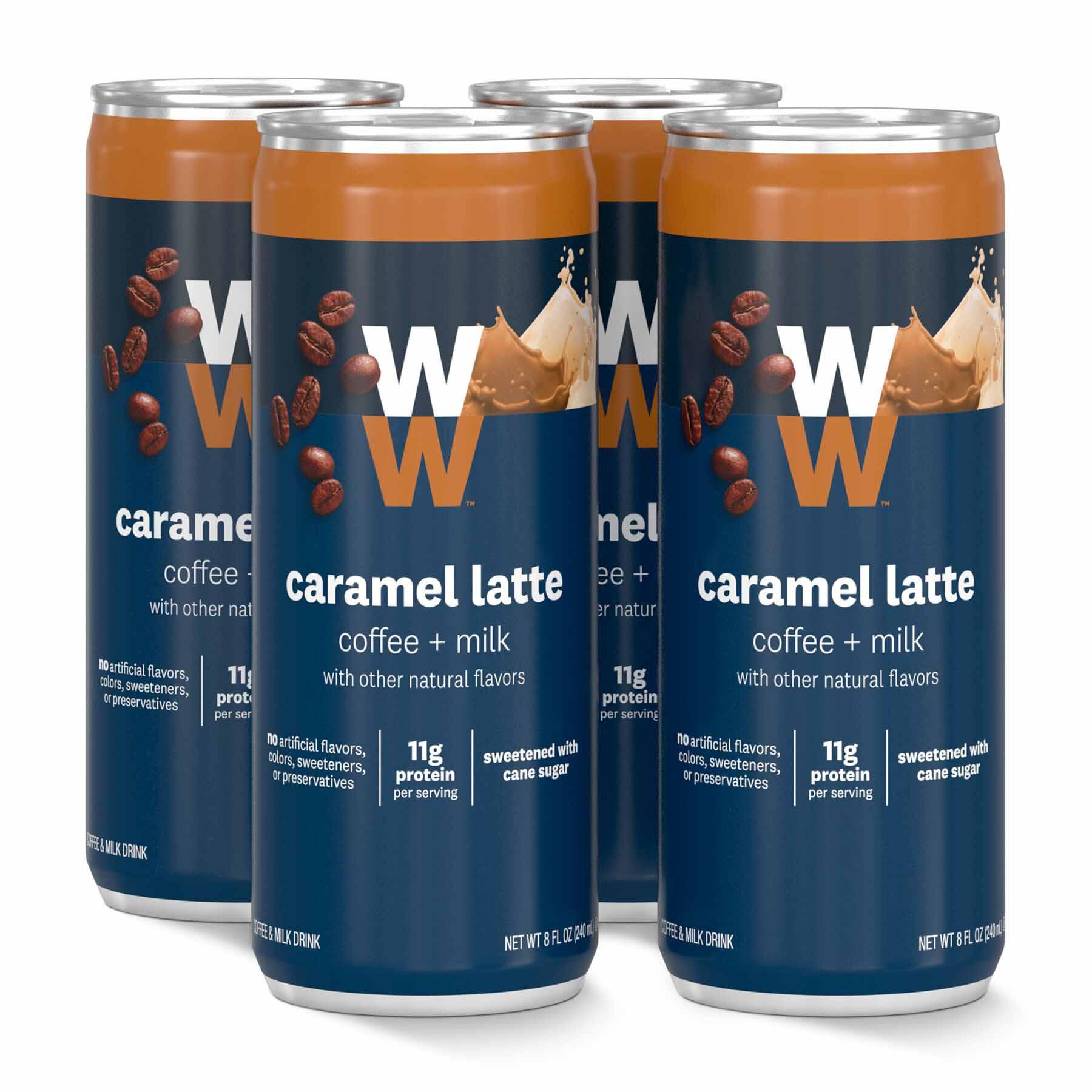 Caramel latte - 4 cans