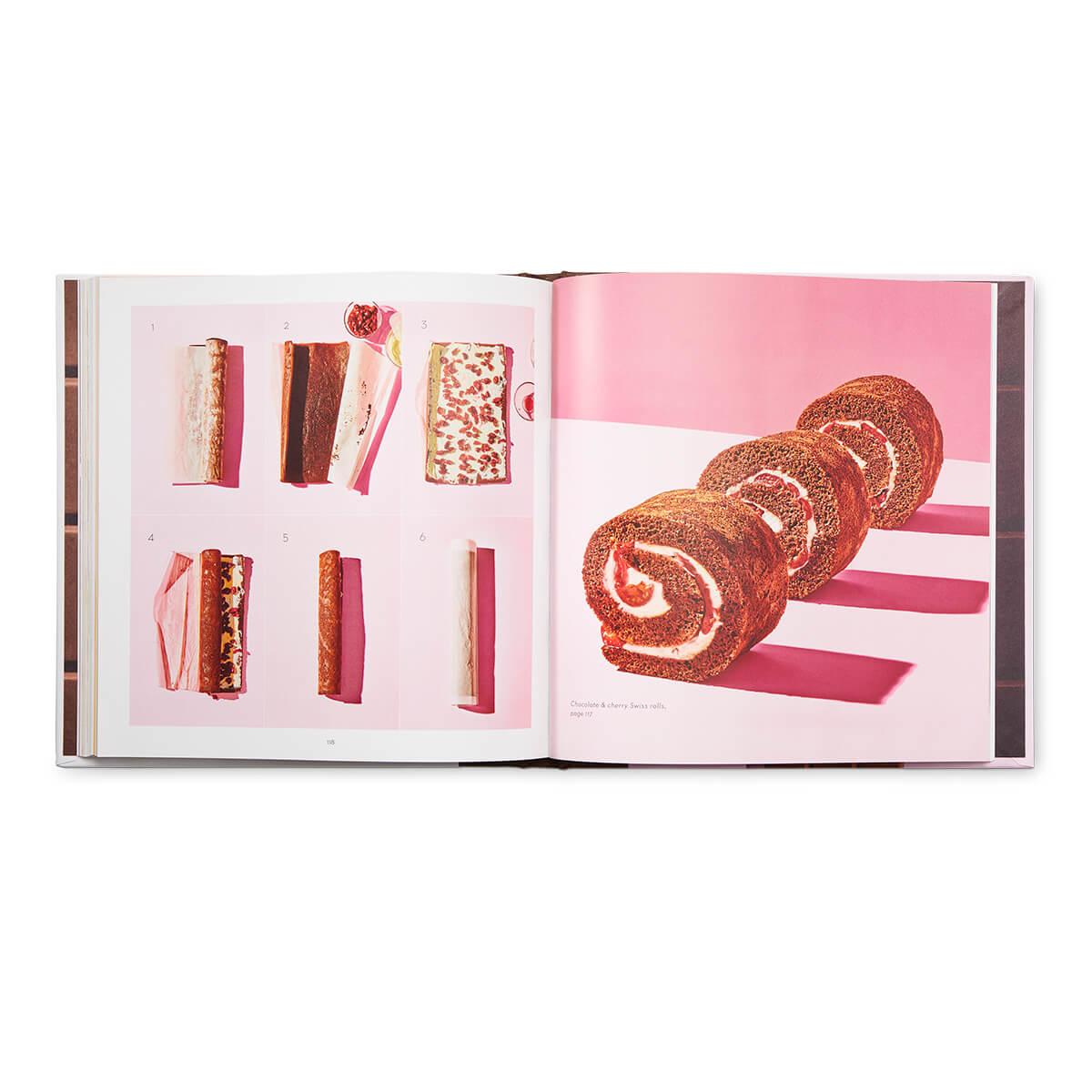 Chocolate Cookbook - chocolate pinwheel dessert page