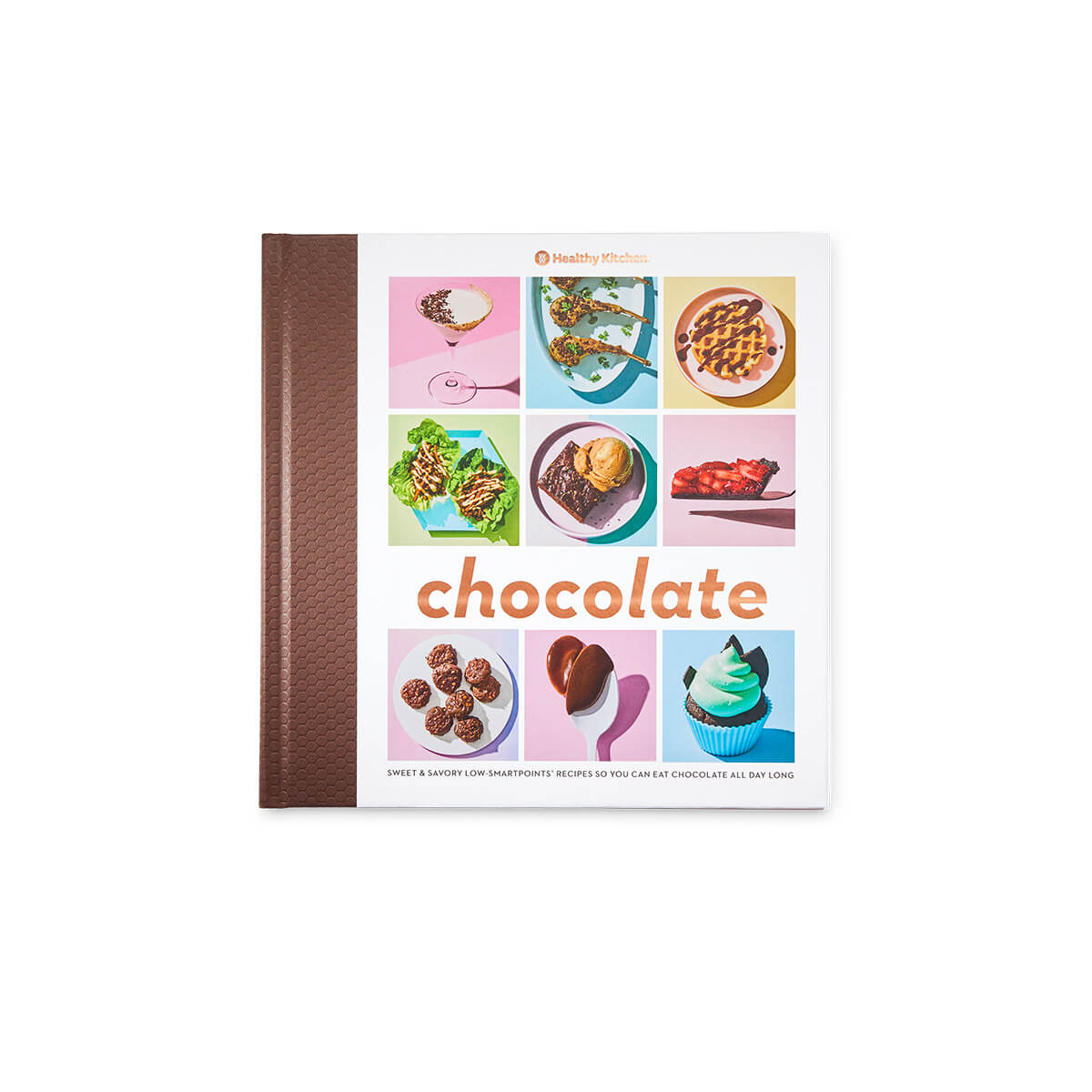 Chocolate Cookbook - front cover of book