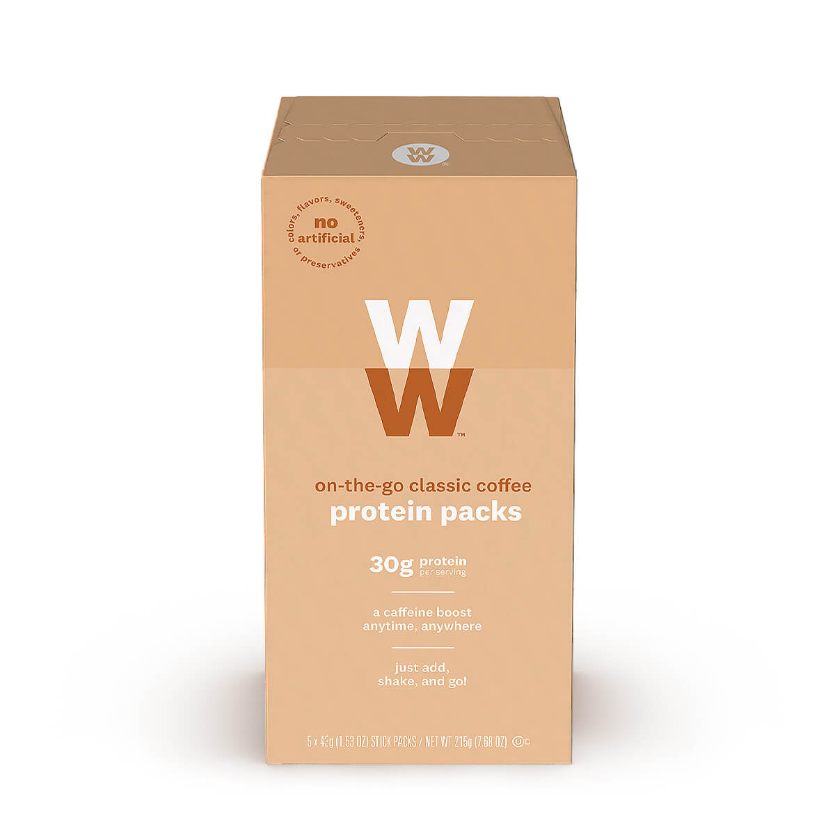 On the Go Classic Coffee Protein Pack