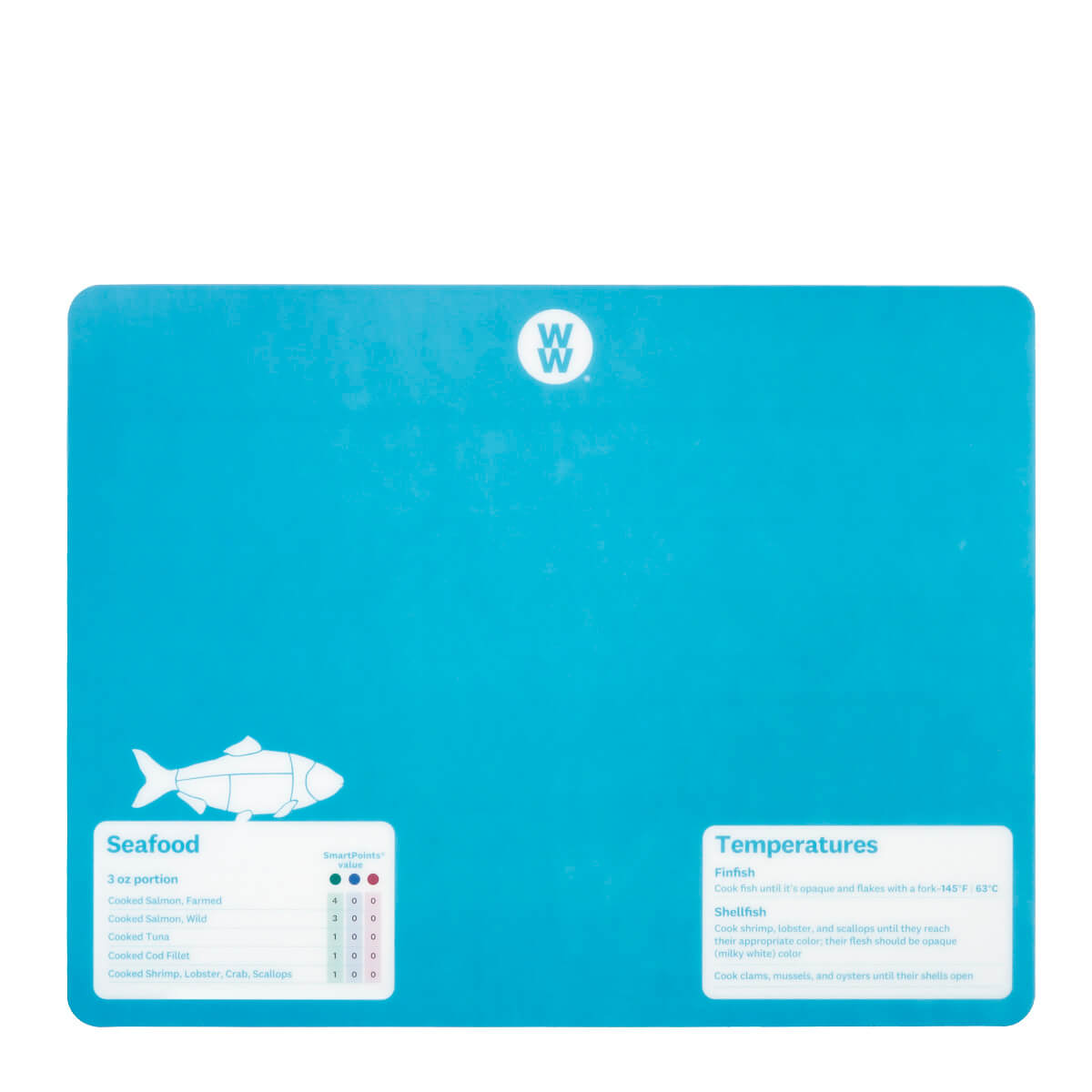WW Color-Coded Flexible Cutting Mats - blue