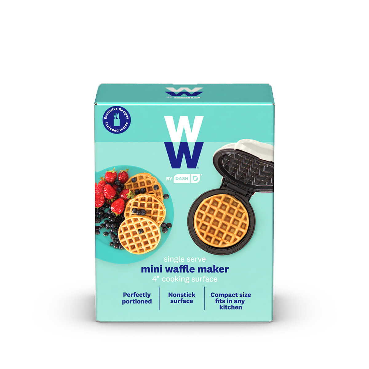 WW by Dash Mini Waffle Maker - front