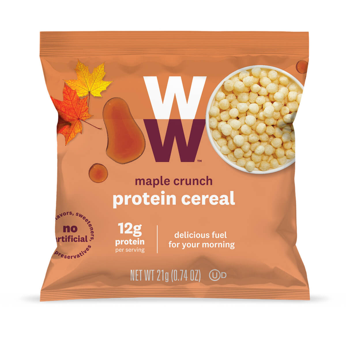 Maple Crunch Protein Cereal - bag