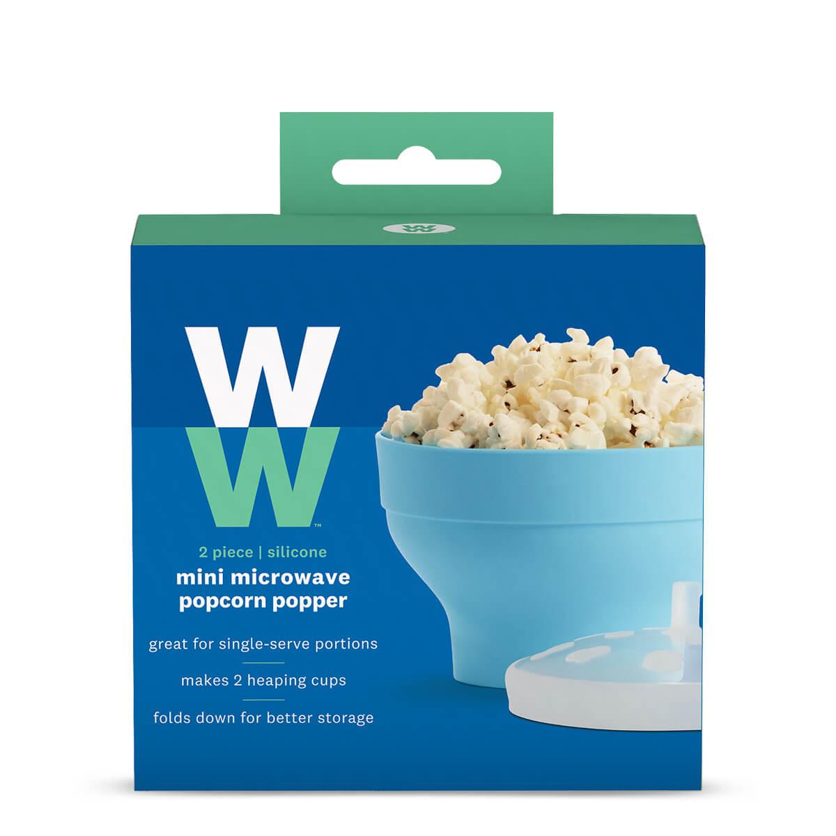 Mini Silicone Microwave Popcorn Popper - box