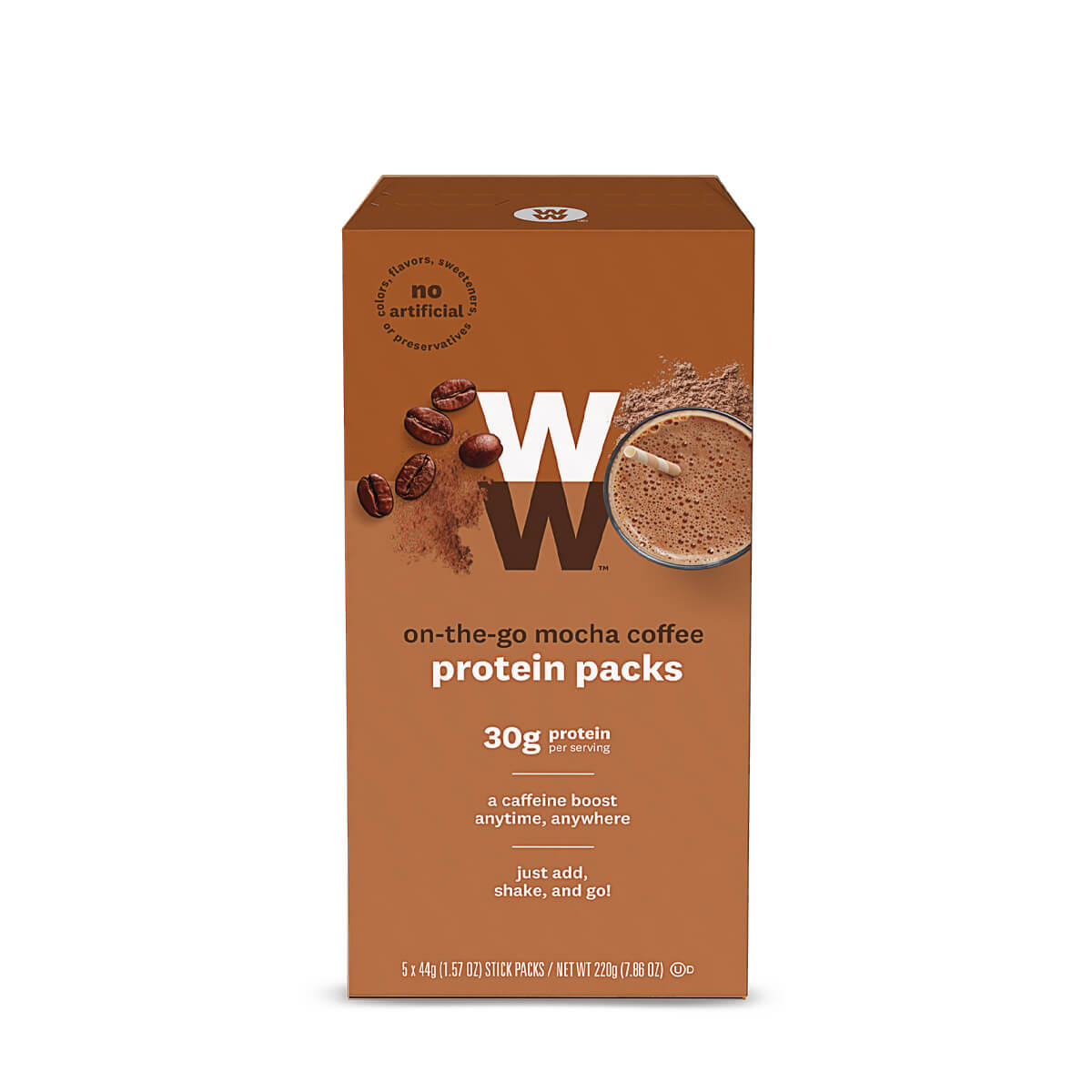 On the Go Mocha Coffee Protein Pack
