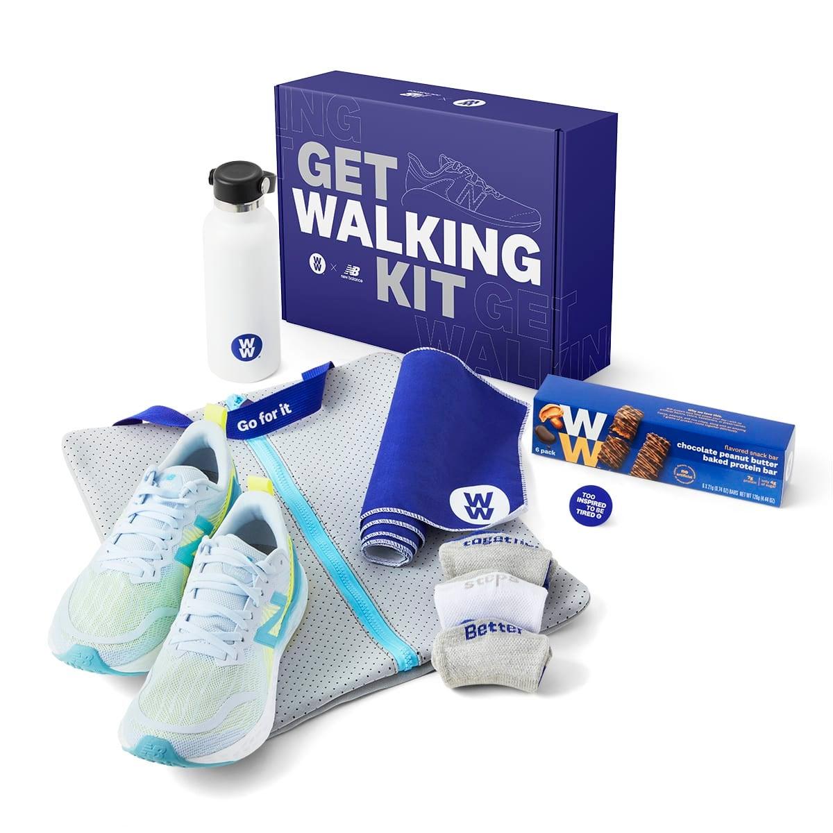 WW x New Balance Get Walking Kit