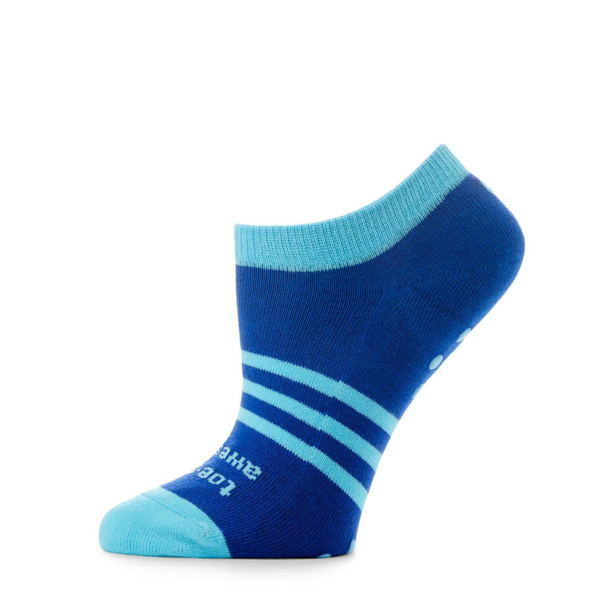 No Show Socks Blue - side
