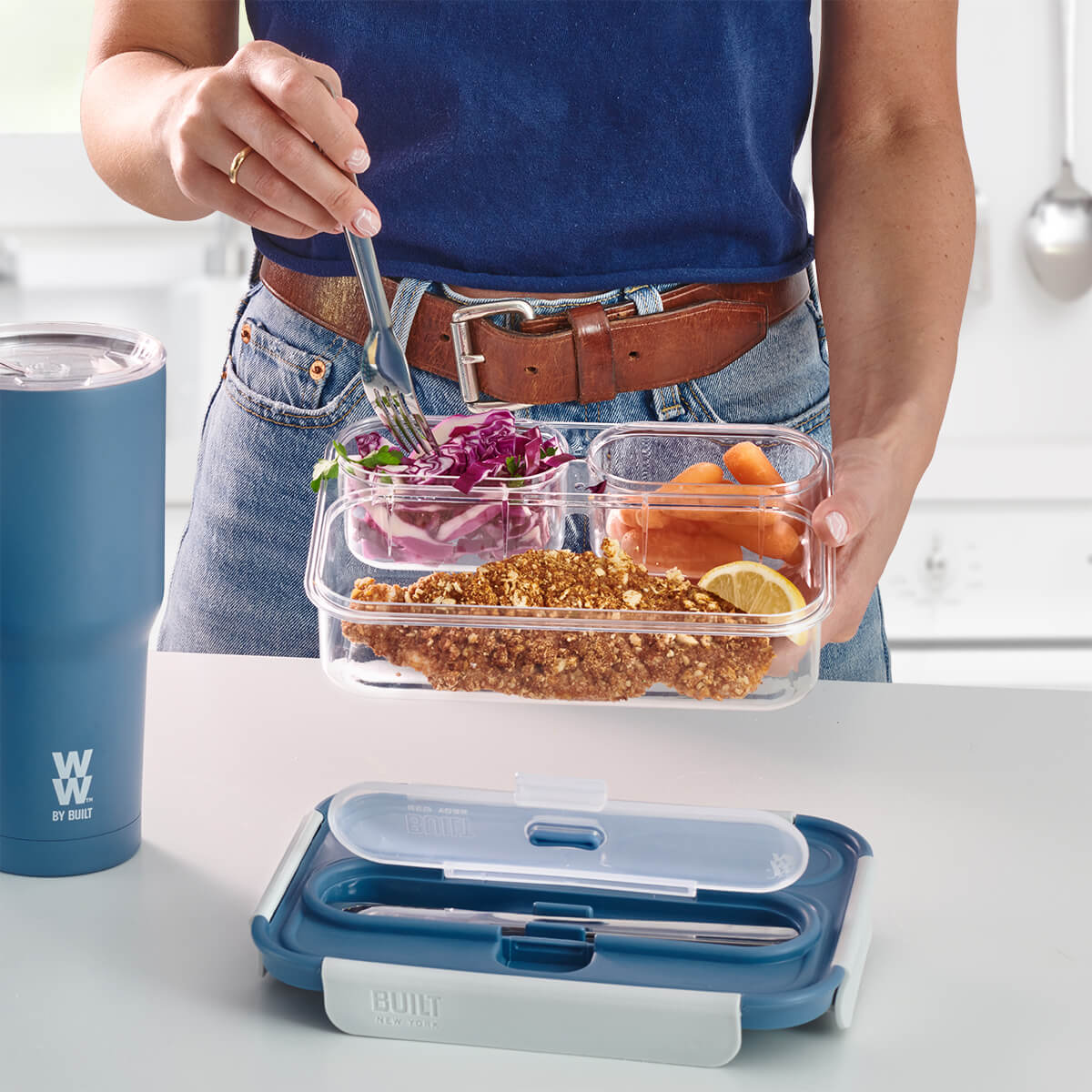 WW by Built 3 Compartment Container - lifestyle 2
