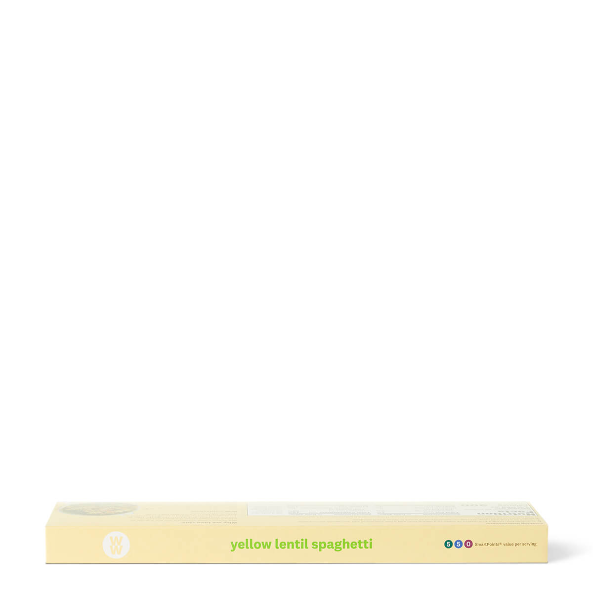 Yellow Lentil Spaghetti - side