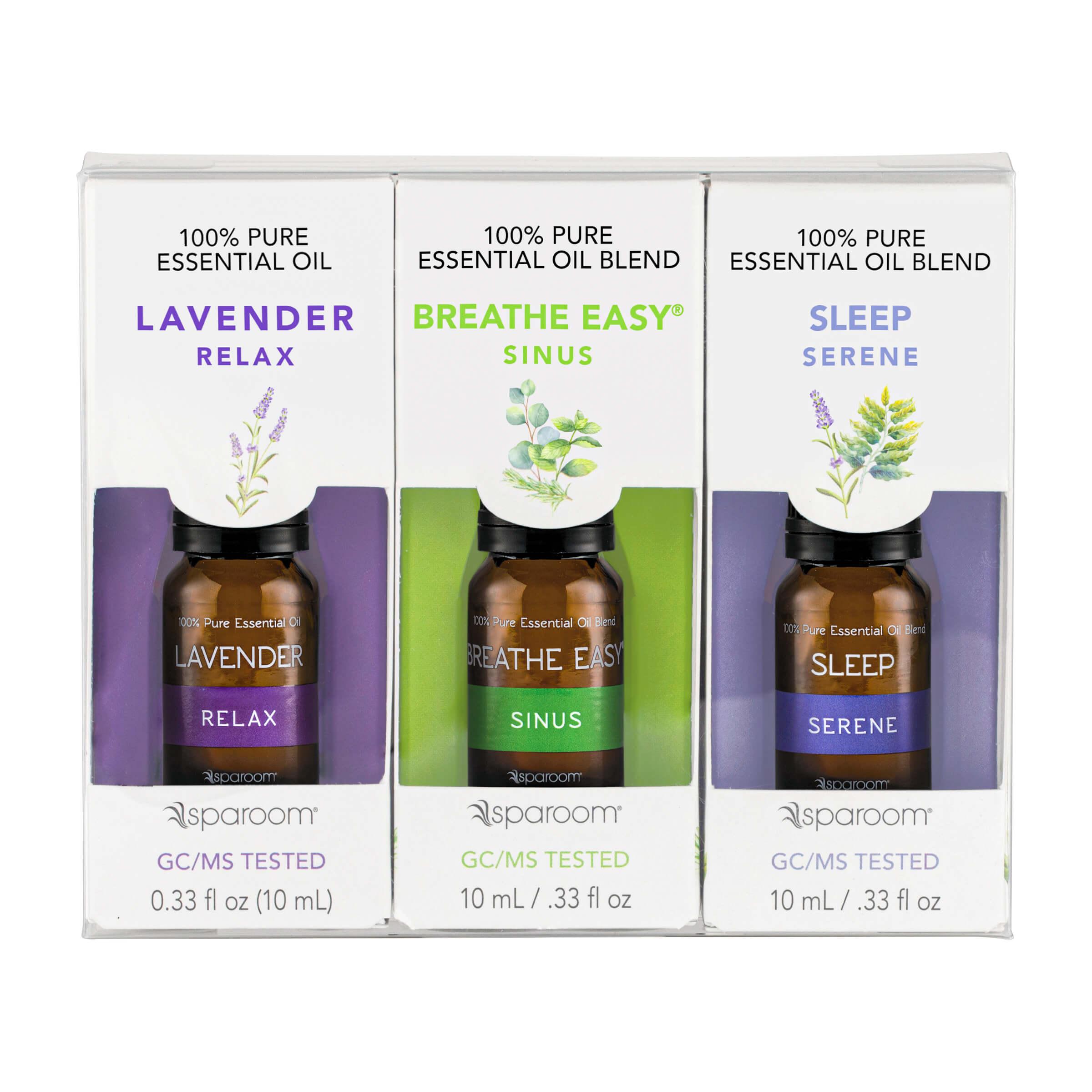 SpaRoom Essential Oils Sleep Set