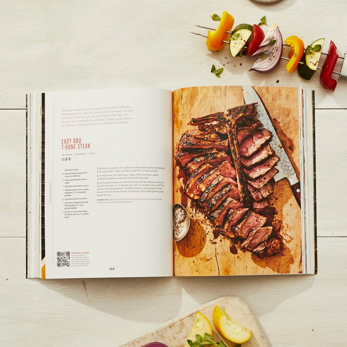 Year Round Grilling Cookbook - steak recipe