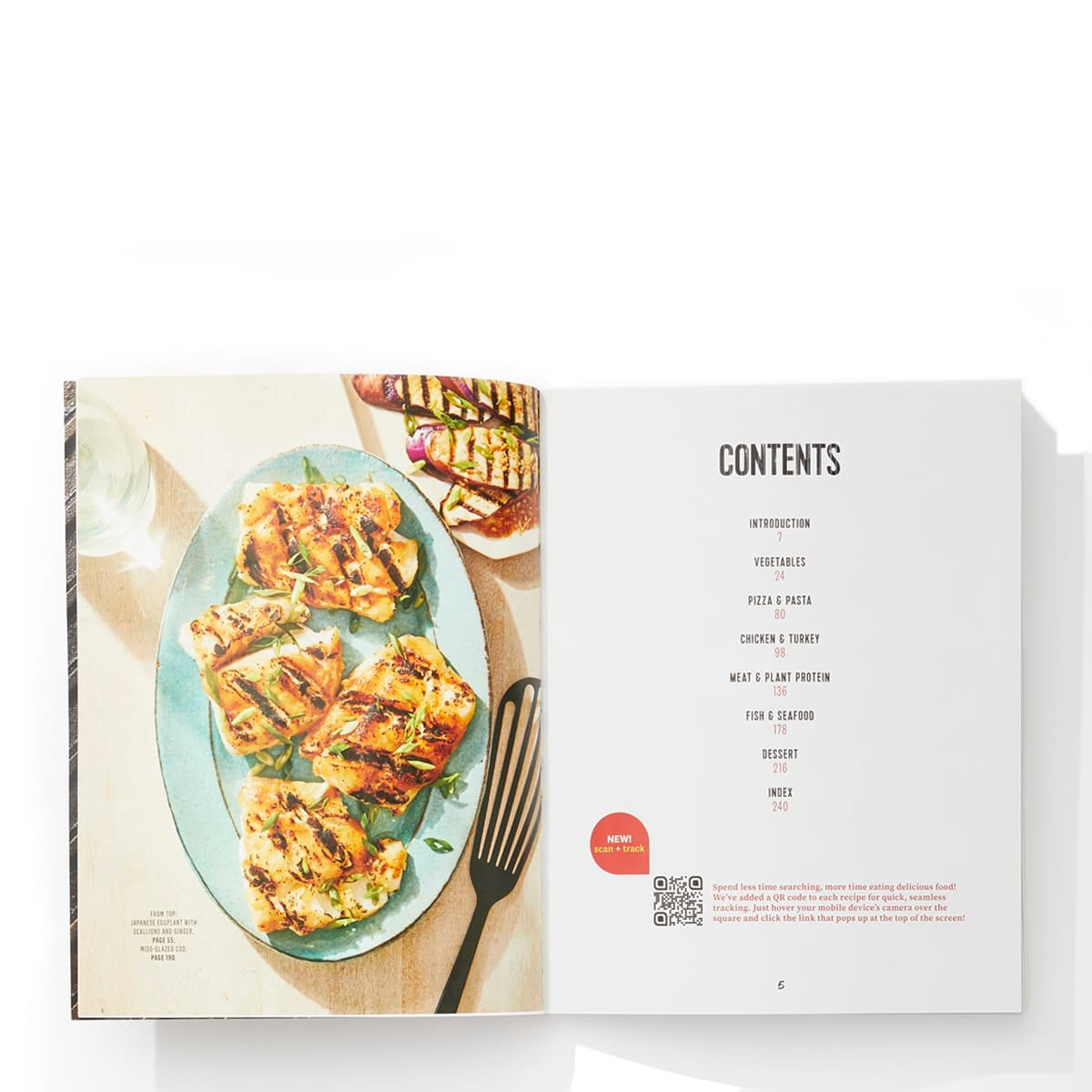 Year Round Grilling Cookbook - table of contents