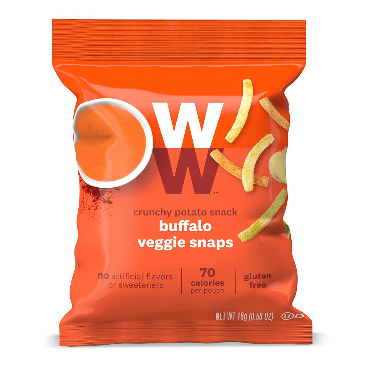 Buffalo Veggie Snaps - front of bag