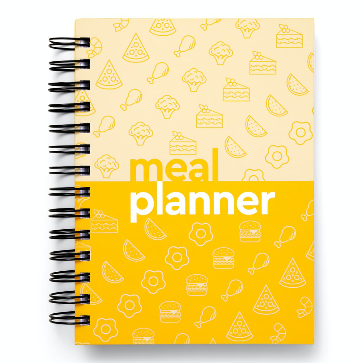 52 Week Meal Planner - front cover- daily food journal