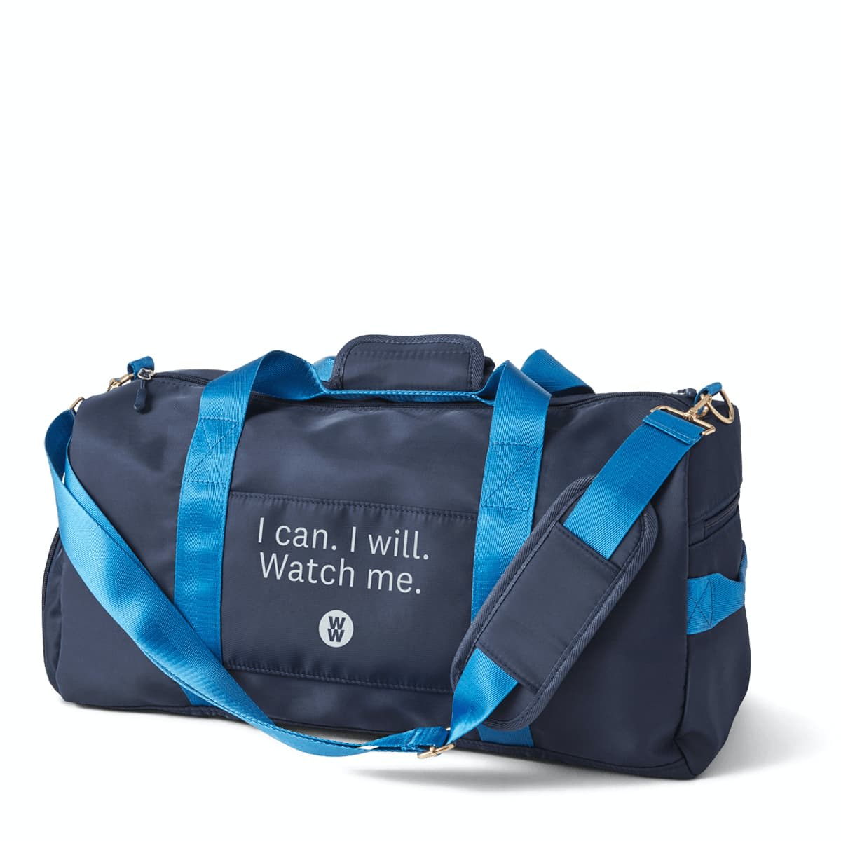 I can I will Watch Me Gym Bag - WW Gym Bag with shoe compartment