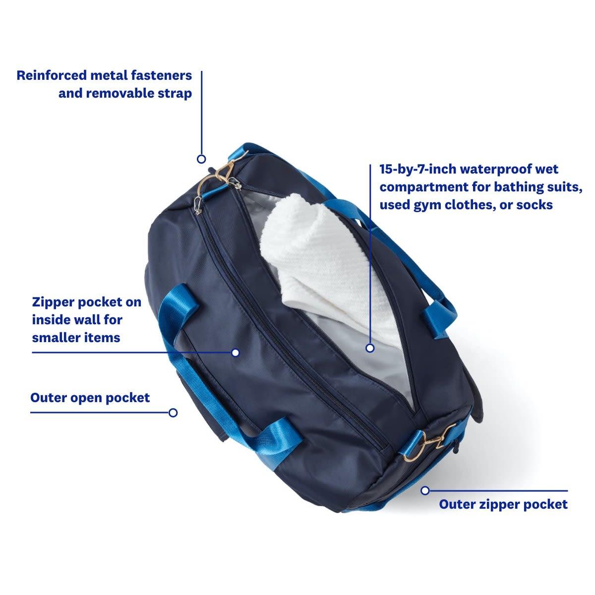 I can I will Watch Me Gym Bag - WW Gym Bag - infographic 2