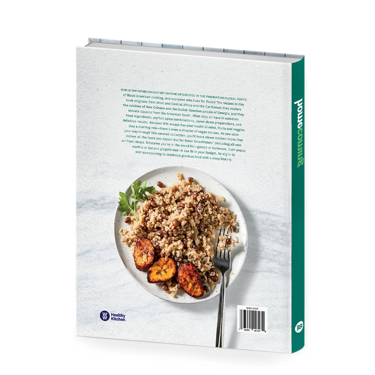 Homecoming Cookbook - back